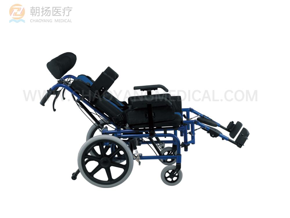 轻型铝制儿童轮椅CY-WH2